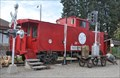 Image for Great Northern Steel Caboose ~ Newport, Washington