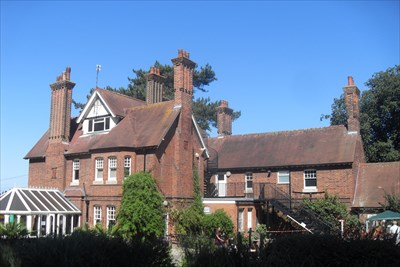 ...the house from the south-west.