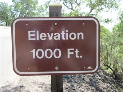 Elevation 1,000 ft, Close-up, Mount Diablo State Park
