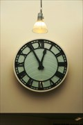 Image for Eve Poole Library Clock — Invercargill, New Zealand