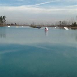 Cable ski Waterway, Pleasant Grove, CA