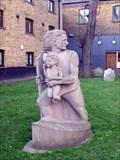 Image for Christopher Jones, master of the Mayflower.  Rotherhithe, London, UK