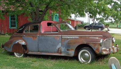 Old Buick Eight - Red Oaks II