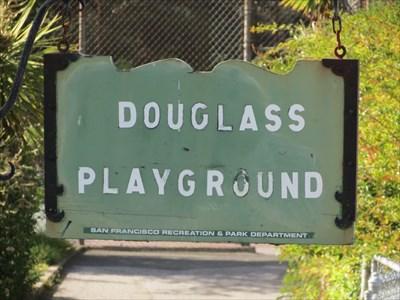 Douglass Playground Sign, San Francisco, California