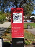 "Image for California State University, East Bay  ""You are Here"" sign #2- Hayward, CA"