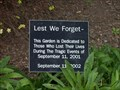 Image for 9/11 Memorial Garden - Buffalo State College - NY
