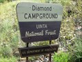 Image for Diamond Campground - Uinta National Forest - Utah USA