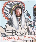 Image for Indian Village Cutout - St. Ignace, Michigan