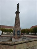 Image for La fontaine Neptune-Bruyères-Lorraine,France