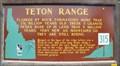 Image for #315 - Teton Range