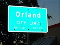 Image for Orland CA 7,501 population