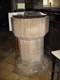Image for Font - St Peter's Church, Papworth Everard, Cambridgeshire, UK