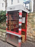 Image for The red telephone box - Prague, Czech Republic