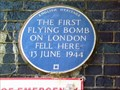 Image for Flying Bomb - Grove Road, London, UK