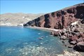 Image for Red Beach on Santorini Island