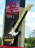 Image for Artistic Neon Guitar - Route 66 - Tulsa, Oklahoma, USA.