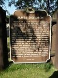Image for James Davidson Historical Marker
