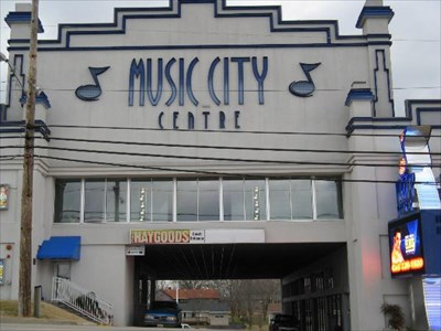MISIC CITY CENTRE FRONT OF THEATER