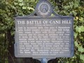 Image for The Battle Of Cane Hill - Cane Hill AR