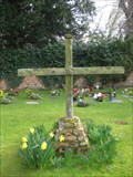 Image for Garden of Remembrance Cross - St Andrew's Church, The Town, Great Staughton, Cambridgeshire, UK