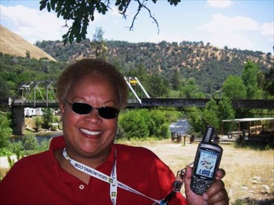 """Did the """"American River at Coloma"""" earthcache for #1600."""