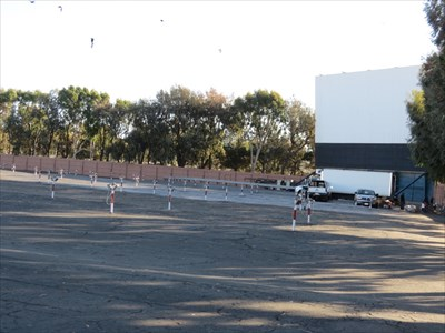 Hi-Way Drive-In Theater Parking Area, Santa Maria, CA