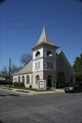 Image for Central Christian Church -- Lampasas Downtown Historic District, Lampasas TX
