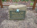Image for Memorial Park Blue Star Plaque - San Ramon, CA