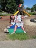 Image for Clown Cutout 2 - Circus World - Baraboo, Wisconsin
