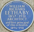 Image for William Richard Lethaby - Southampton Row, London, UK