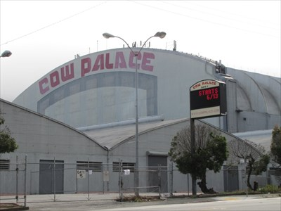 Cow Palace, East Side, Daly City, California
