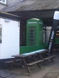 Image for Green Telephone Box - McGinty's Irish Bar, Beer Garden - Ipswich, Suffolk