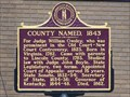Image for County Named, 1843 - Booneville, KY