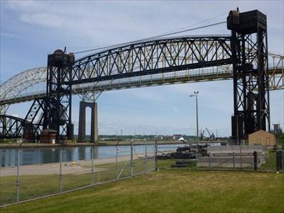 International Bridge - Sault Ste Marie - Michigan - USA.
