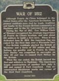 Image for War of 1812 - Prairie du Chien, WI