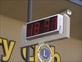 Image for Lions Club  Clock - Milton. South Is. New Zealand.