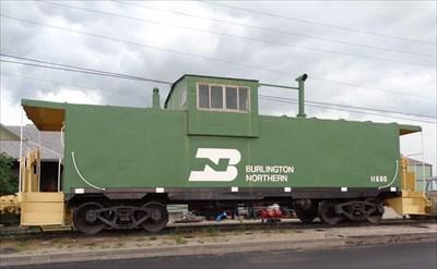 Burlington Northern - Caboose 11680