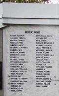Image for Boer War Memorial - Cranbrook, BC, Canada