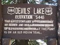 Image for Devils Lake - Elevation 5446