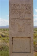 Image for Dominguez and Escalante Expedition Historic Marker