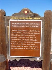 Vietnam War Memorial - Route 66 - Paraje, NM. USA.