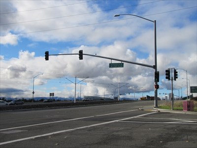 Looking West to Tasman Drive, Milpitas, CA