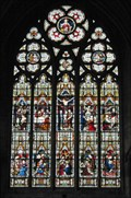 Image for East Window, Holy Trinity new Church, Wentworth, Rotherham.