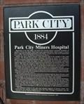 Image for Park City Miner's Hospital - Park City, Utah