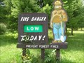 Image for Smokey Bear on North 209 - Delaware Water Gap NRA