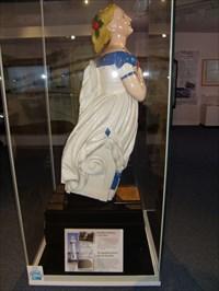 SS Terra Nova - figure head - National Museum Cardiff, Wales.