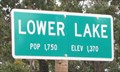 Image for Lower Lake, CA - Pop 1750