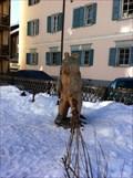 Image for Bear Statue near Crusch Alva - Bergün, GR, Switzerland