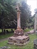 Image for Churchyard Cross, St. Nicholas' Church, Eydon, Northants.