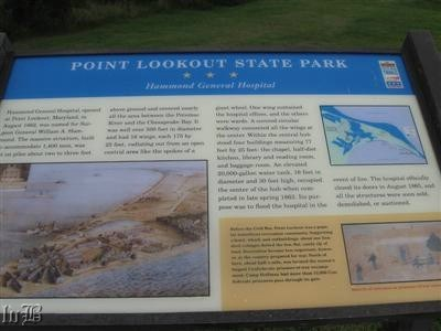Point Lookout State Park - Hammond General Hospital